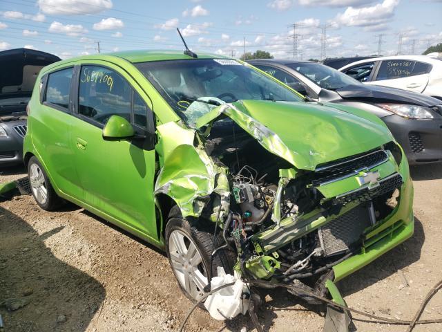Salvage cars for sale at Elgin, IL auction: 2014 Chevrolet Spark 1LT