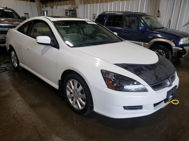 Salvage cars for sale at Anchorage, AK auction: 2006 Honda Accord EX