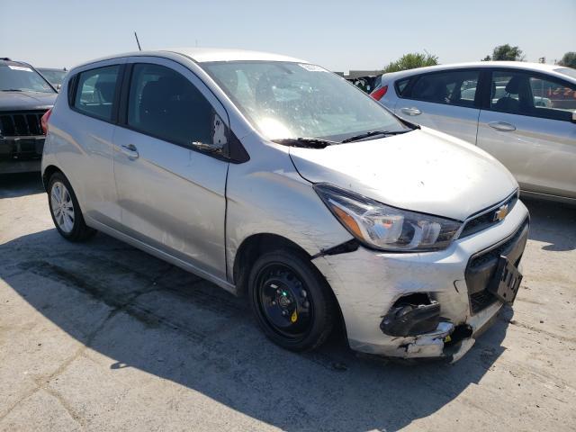 Chevrolet Spark 1LT salvage cars for sale: 2017 Chevrolet Spark 1LT