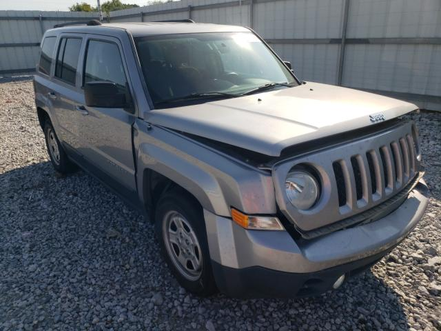 Salvage cars for sale from Copart Prairie Grove, AR: 2015 Jeep Patriot SP