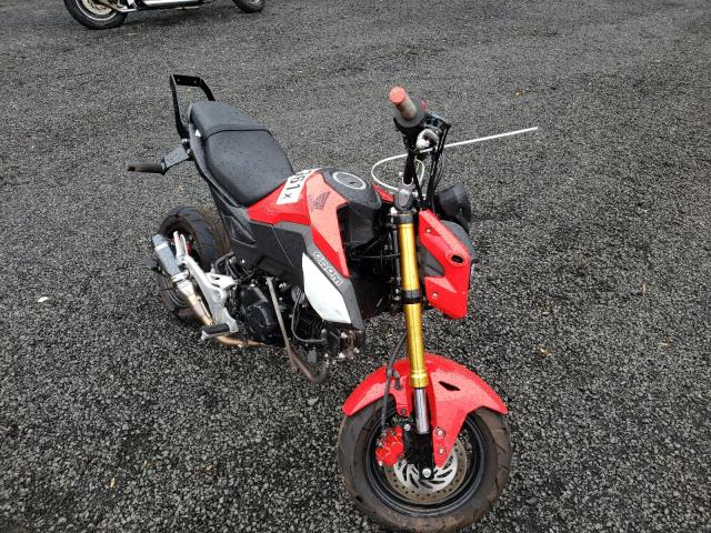 Salvage motorcycles for sale at New Britain, CT auction: 2020 Honda Grom 125