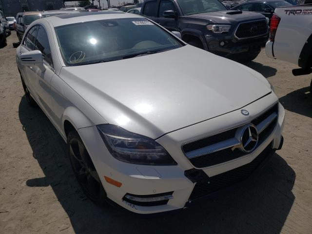 Vehiculos salvage en venta de Copart Los Angeles, CA: 2014 Mercedes-Benz CLS 550