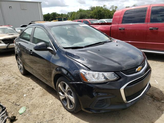 Salvage cars for sale from Copart Jacksonville, FL: 2019 Chevrolet Sonic Premium