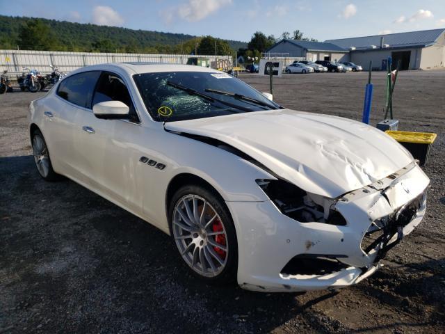 Maserati Quattropor salvage cars for sale: 2017 Maserati Quattropor