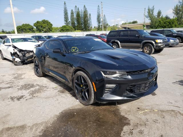 Chevrolet salvage cars for sale: 2017 Chevrolet Camaro SS