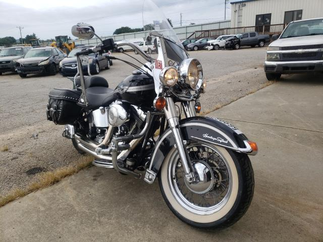 Salvage cars for sale from Copart Chatham, VA: 2003 Harley-Davidson Flstc