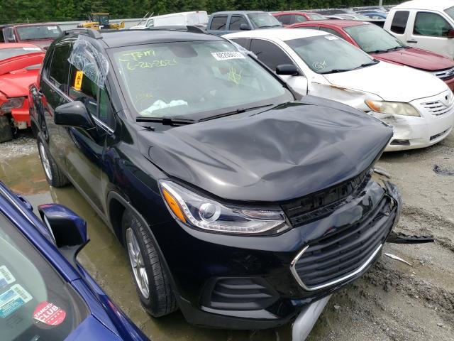 Vehiculos salvage en venta de Copart Savannah, GA: 2020 Chevrolet Trax 1LT