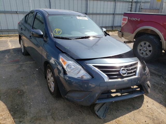 Salvage cars for sale at Conway, AR auction: 2016 Nissan Versa S
