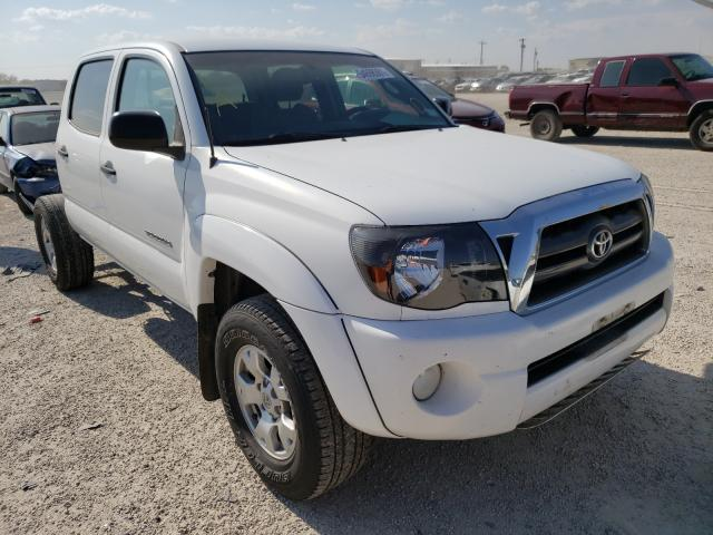 Salvage cars for sale at San Antonio, TX auction: 2010 Toyota Tacoma DOU