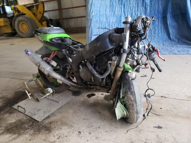 Salvage cars for sale from Copart Columbia Station, OH: 1999 Kawasaki ZX600 G