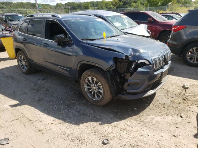 Salvage cars for sale from Copart Madison, WI: 2019 Jeep Cherokee L