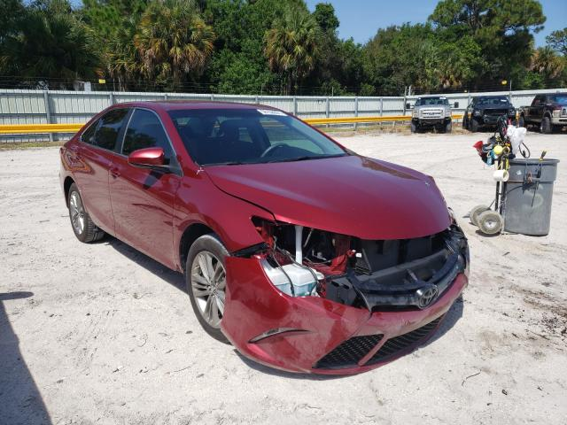 Salvage cars for sale from Copart Fort Pierce, FL: 2017 Toyota Camry LE/S