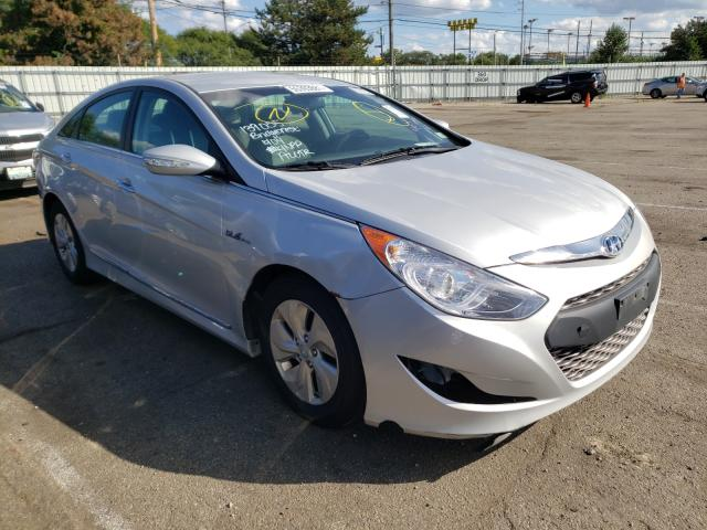 Salvage cars for sale from Copart Moraine, OH: 2015 Hyundai Sonata Hybrid