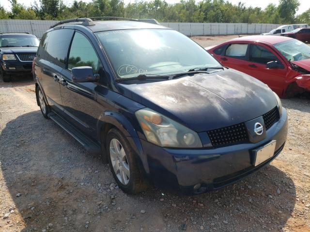 Salvage cars for sale at Oklahoma City, OK auction: 2005 Nissan Quest S