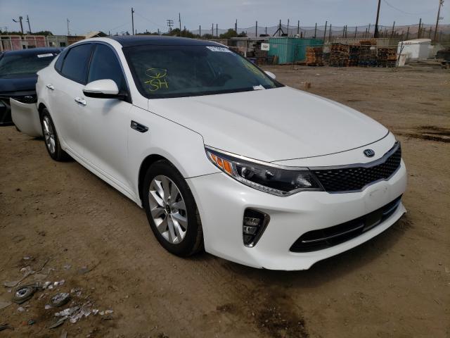 Salvage cars for sale from Copart San Martin, CA: 2018 KIA Optima EX