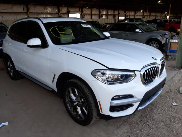 Salvage cars for sale from Copart Phoenix, AZ: 2020 BMW X3 XDRIVE3