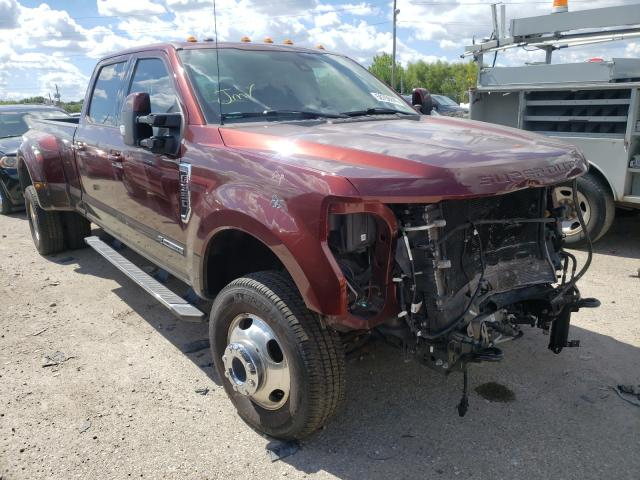 Salvage cars for sale from Copart Indianapolis, IN: 2017 Ford F350 Super