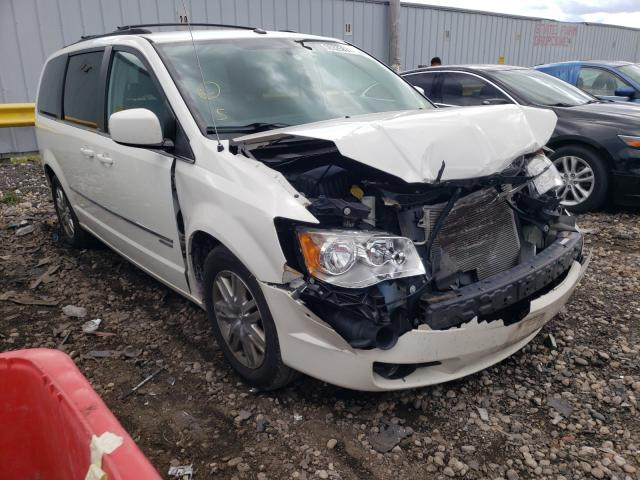 Chrysler Town & Country salvage cars for sale: 2010 Chrysler Town & Country