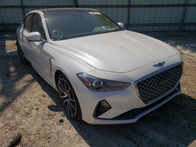 Genesis salvage cars for sale: 2020 Genesis G70