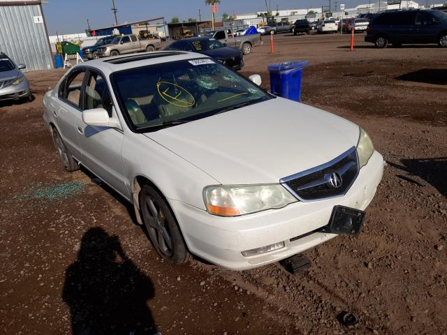 Salvage cars for sale from Copart Phoenix, AZ: 2003 Acura 3.2TL Type