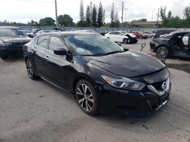 Vehiculos salvage en venta de Copart Miami, FL: 2017 Nissan Maxima 3.5