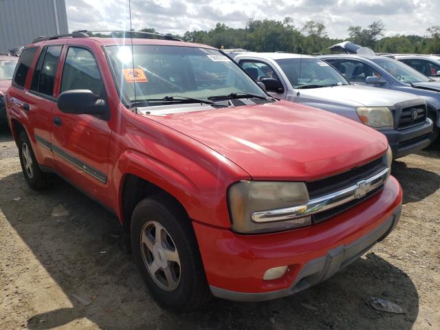 Salvage cars for sale from Copart Jacksonville, FL: 2002 Chevrolet Trailblazer