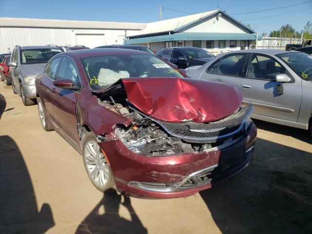 2015 Chrysler 200 Limited en venta en Pekin, IL