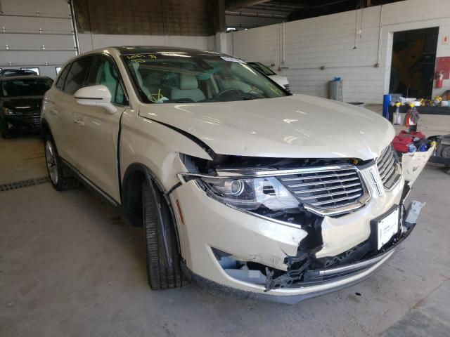 Lincoln salvage cars for sale: 2016 Lincoln MKX