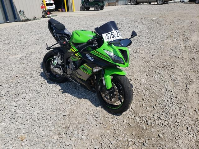 Salvage cars for sale from Copart Earlington, KY: 2018 Kawasaki ZX636 F