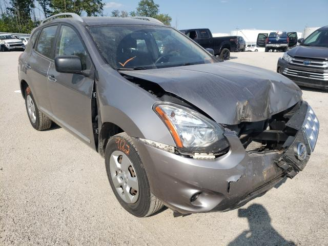 Salvage cars for sale from Copart Milwaukee, WI: 2015 Nissan Rogue Sele