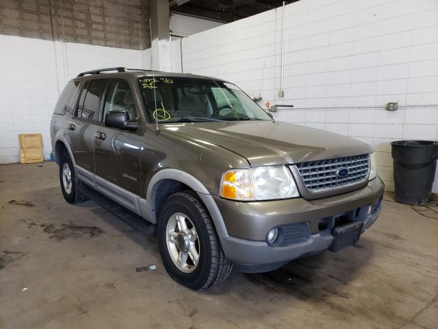 Salvage cars for sale from Copart Blaine, MN: 2002 Ford Explorer X