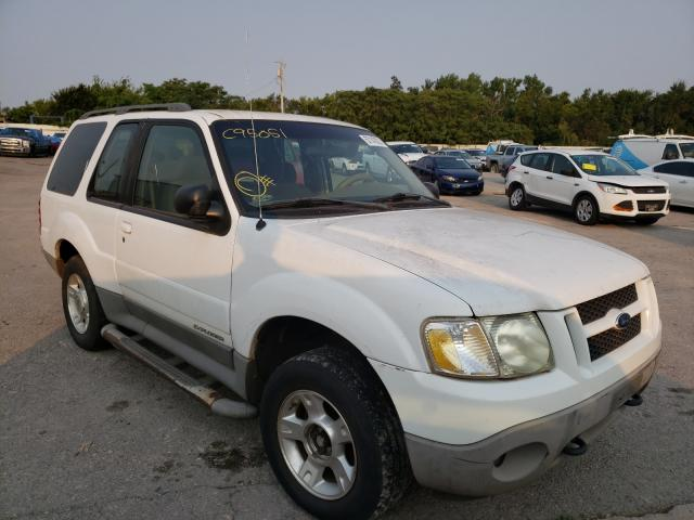 Salvage cars for sale at Oklahoma City, OK auction: 2001 Ford Explorer S