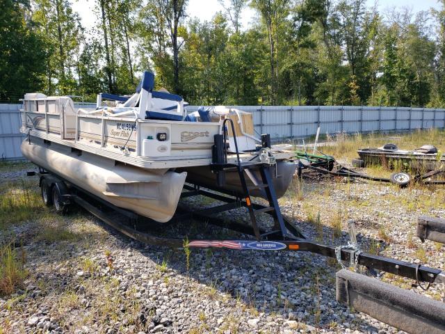 Crestliner salvage cars for sale: 2002 Crestliner Boat TRL