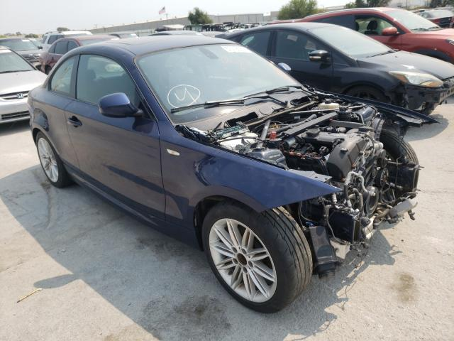 Salvage cars for sale from Copart Tulsa, OK: 2013 BMW 128 I