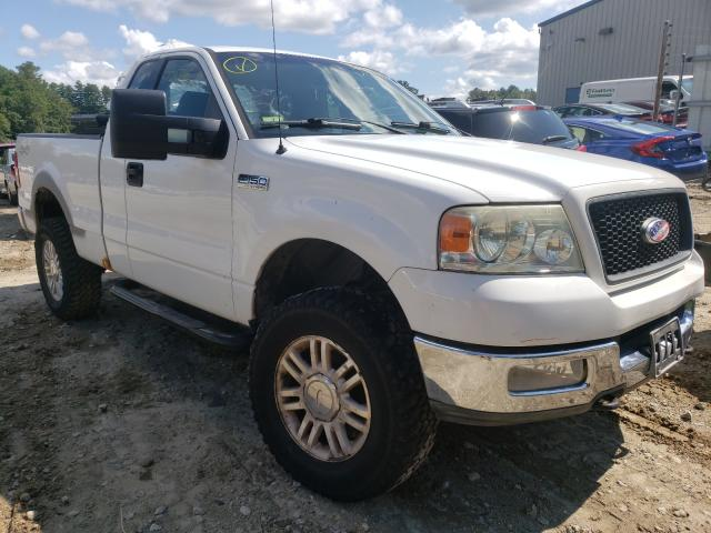 Salvage cars for sale from Copart Mendon, MA: 2004 Ford F150