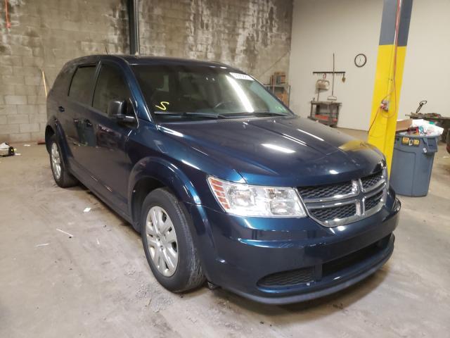 Vehiculos salvage en venta de Copart Chalfont, PA: 2015 Dodge Journey SE