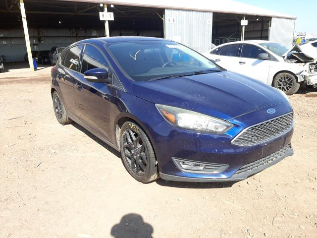 Salvage cars for sale from Copart Phoenix, AZ: 2016 Ford Focus SE