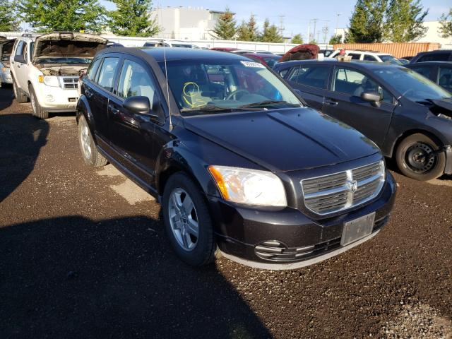 Salvage cars for sale from Copart Bowmanville, ON: 2009 Dodge Caliber SX
