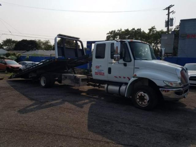 Salvage cars for sale from Copart Woodhaven, MI: 2011 International 4000 4300