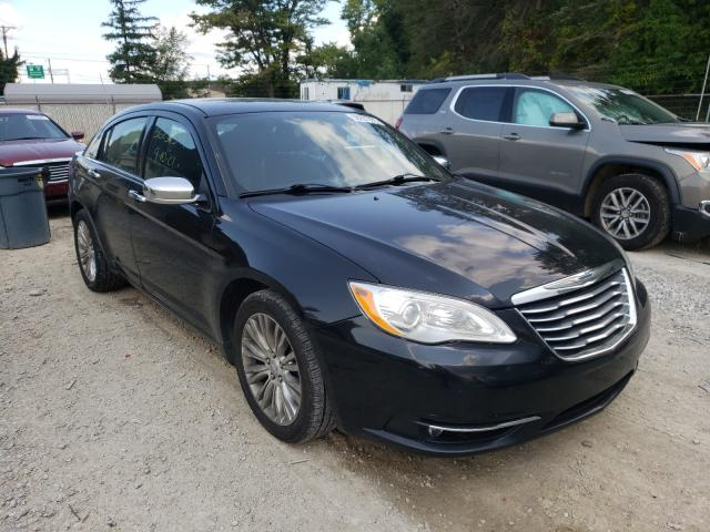 Salvage cars for sale from Copart Northfield, OH: 2011 Chrysler 200 Limited