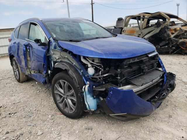 Salvage cars for sale from Copart Columbus, OH: 2020 Honda CR-V Touring