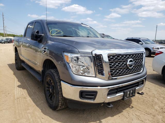 Vehiculos salvage en venta de Copart Houston, TX: 2016 Nissan Titan XD S