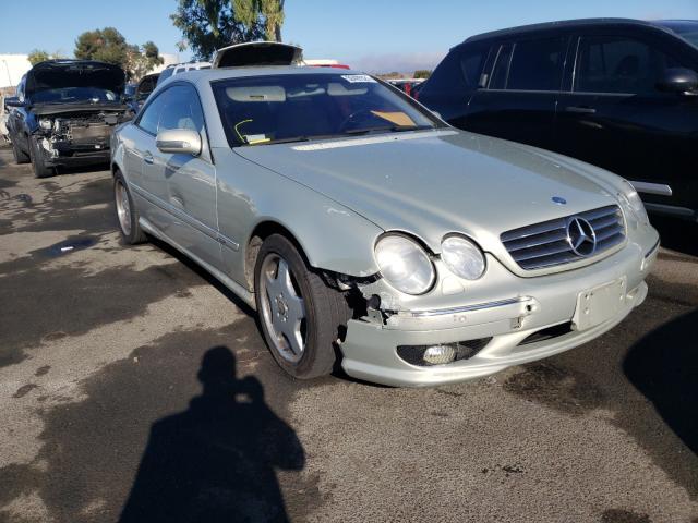 Vehiculos salvage en venta de Copart Martinez, CA: 2002 Mercedes-Benz CL 500