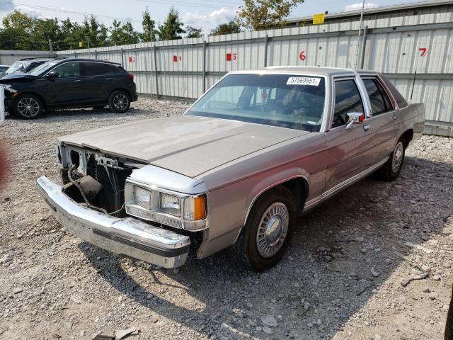 FORD CROWN VIC 1991 1