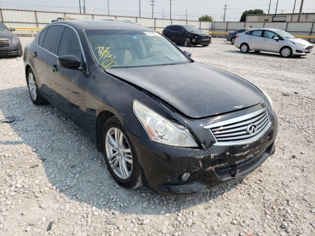 Salvage cars for sale from Copart Haslet, TX: 2012 Infiniti G25 Base