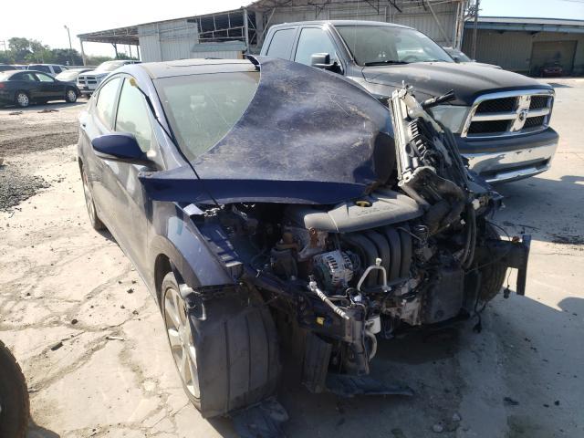 Salvage cars for sale from Copart Corpus Christi, TX: 2012 Hyundai Elantra GL