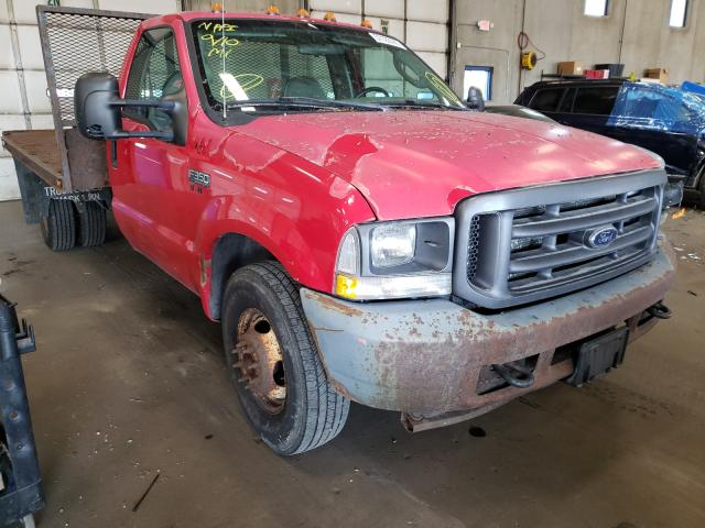 Salvage cars for sale from Copart Blaine, MN: 2004 Ford F350 Super