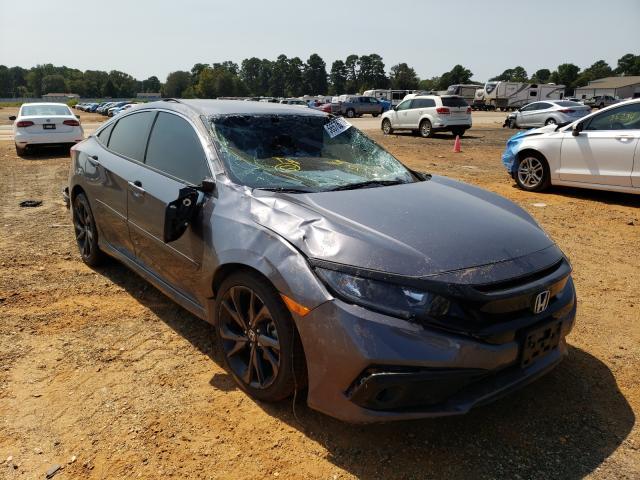 Vehiculos salvage en venta de Copart Longview, TX: 2019 Honda Civic Sport