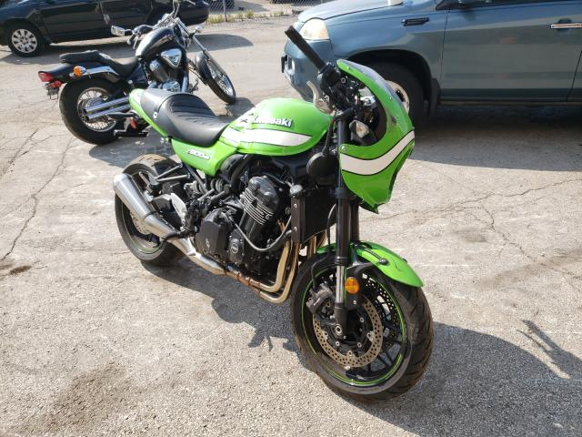 Salvage cars for sale from Copart Wheeling, IL: 2019 Kawasaki ZR900