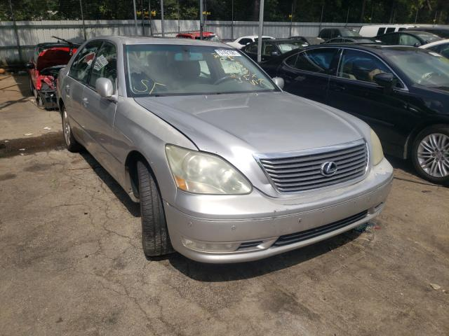 Salvage cars for sale from Copart Austell, GA: 2005 Lexus LS 430